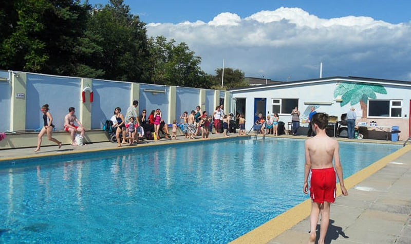 Top 10 baby and toddler friendly things to do in salcombe for Garden centre pool in wharfedale