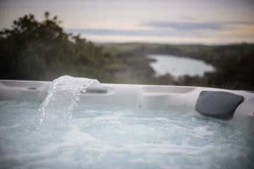 high house salcombe hot tub