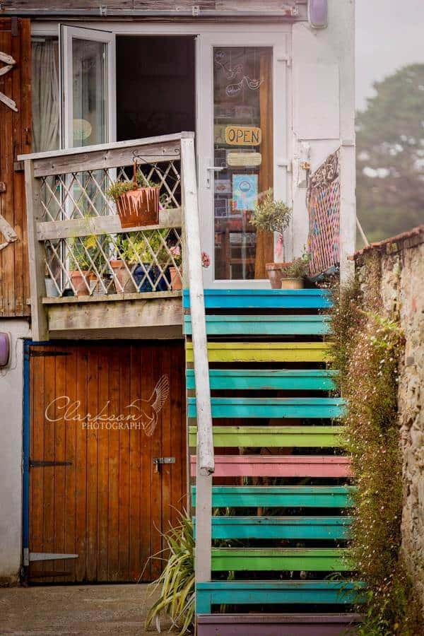 rainbow steps salcombe