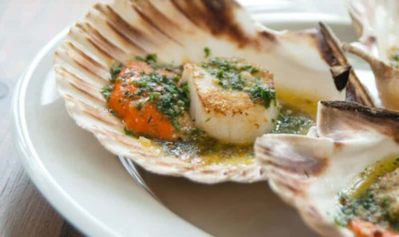 Luxurious Scallops in Salcombe