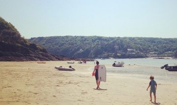 luxury devon beach holiday