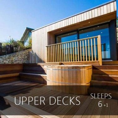 upper decks sleeps 6 + 1 devon