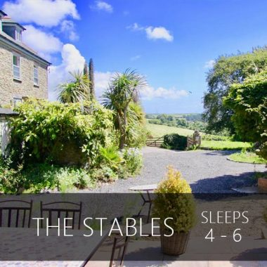 the stables Salcombe sleeps 4 - 6