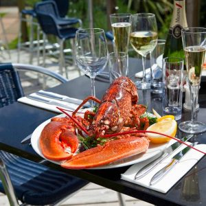 Places to eat in Salcombe DickandWills