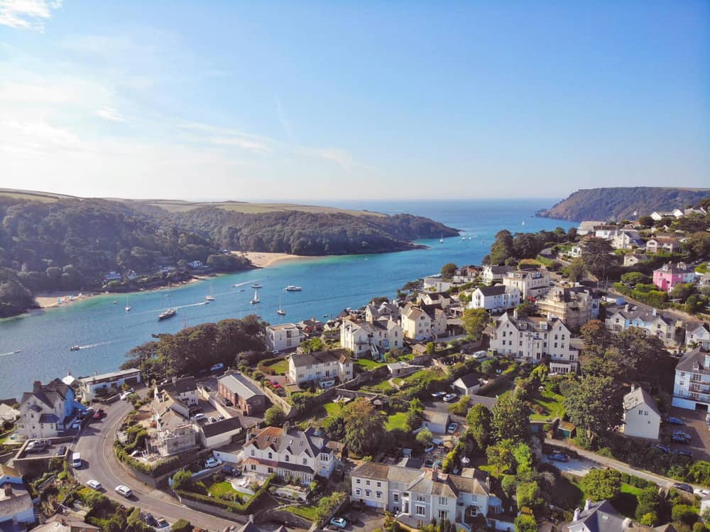 view across Salcombe