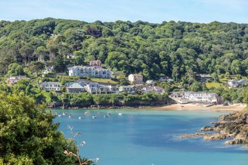 Picture of Salcombe representing September Holidays In The UK